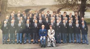 Builth Male Voice Choir c1982