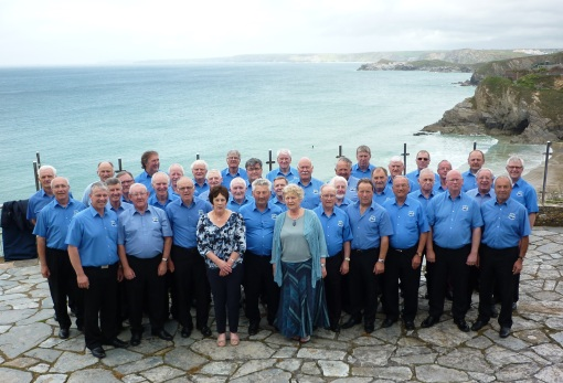 Builth Male Voice Choir in Newquay May 201