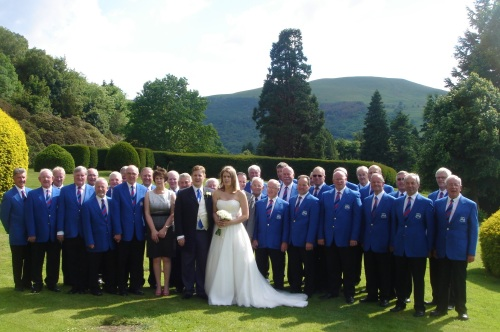 Buckland Hall wedding