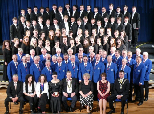 Drake Choir & Builth Male Voice Choir Pavilion May 2012