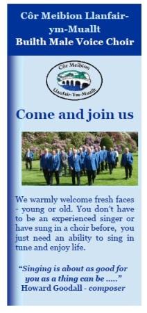 Recruitment leaflet cover