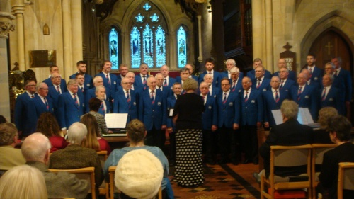 Builth Male Voice Choir, Holy Trinity Church, Llandrindod Wells